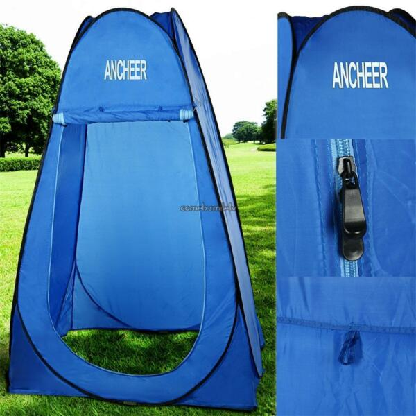 Shower Tent Portable Toilet Camping Bath Room Outdoor Dressing Changing Beach US