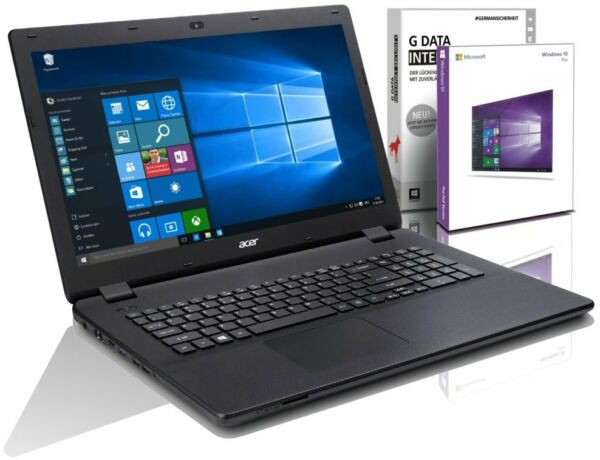 Acer Notebook 15,6 Zoll - Intel 2,48 GHz - 1000 GB HDD - 8 GB RAM - Windows 10