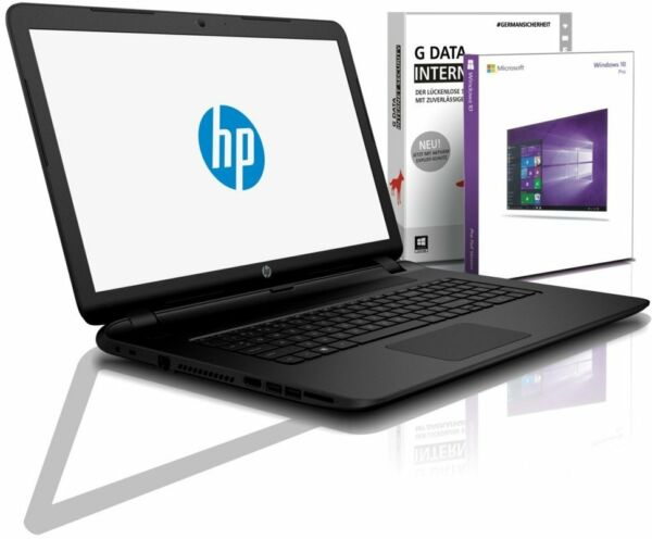 HP Notebook 17,3 Zoll - AMD A6-9220 - 1000 GB - 4 GB DDR4 - Windows 10 Pro
