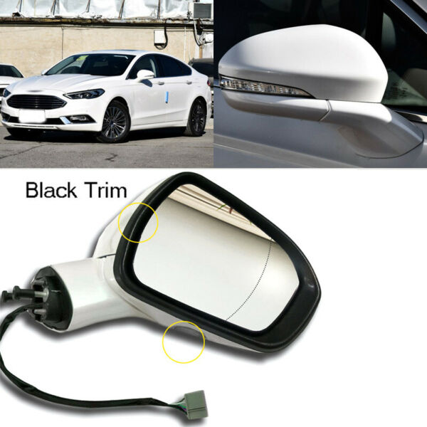 Automatic Folding Power Heated Passenger Side View Mirror Fit For Ford Fusion