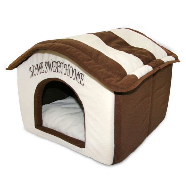 Indoor Dog House Bed Pet Soft Warm Fleece Cushion Pad Washable Cat Cozy Home $38.99