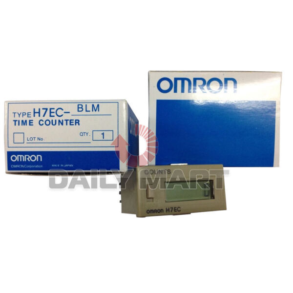 OMRON AUTOMATION H7EC-BLM H7ECBLM COUNTER TOTALIZER 6DIGIT 30CPS SCREW TERMINAL