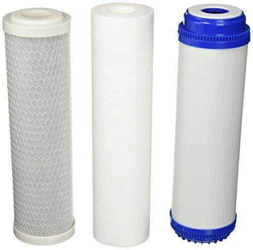Purenex 5 Stage Reverse Osmosis Filter Replacement Set gac carbon and sediment $14.95