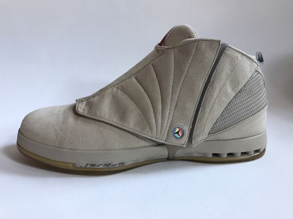 NEW AIR JORDAN 16 VETERANS DAY US 16 PE PLAYER EXCLUSIVE PROMO SAMPLE XVI TAN