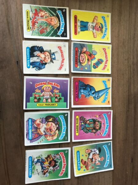 garbage pail kid cards original series 3