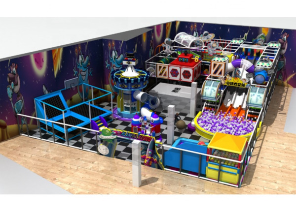 6500 sqft Commercial Indoor Playground Themed Interactive Soft Play We Finance