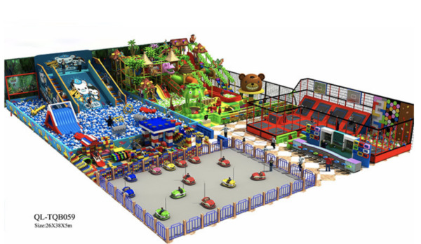 10500 sqft Commercial Indoor Playground Themed Interactive We Finance 100%