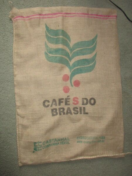 Cafe S DO Brasil Sack Burlap Bag