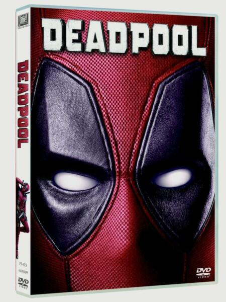 Deadpool (DVD, 2016) New & Sealed funny action with Free Shipping!