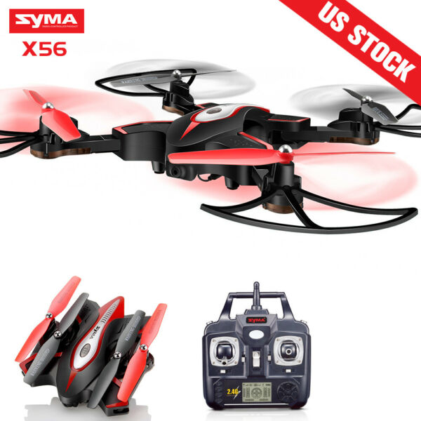 Foldable Syma X56W 0.3MP HD Camera Drone RC Quadcopter FPV App Control WIFI Live