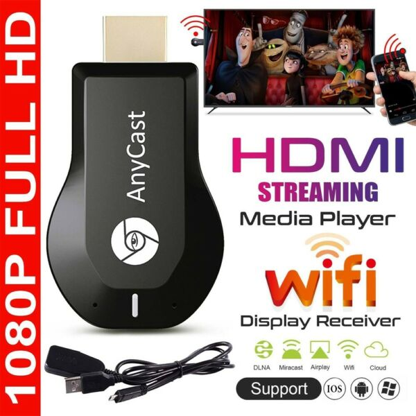 AnyCast 1080p M2 Plus WiFi HD HDMI Media Player Streamer TV Cast Dongle Stick US