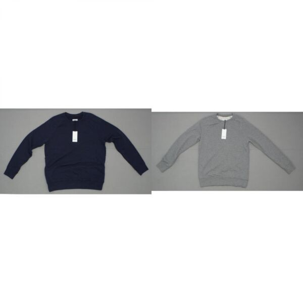 Goodfellow Mens French Terry Crewneck Pullover Sweatshirt