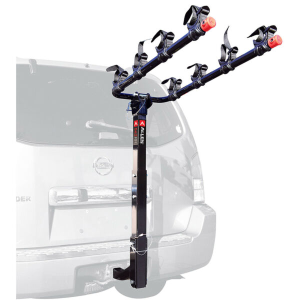 4 Bike Hitch Mounted Bike Rack Bicycle Carrier Car Truck 2quot; Receiver Travel New $136.28