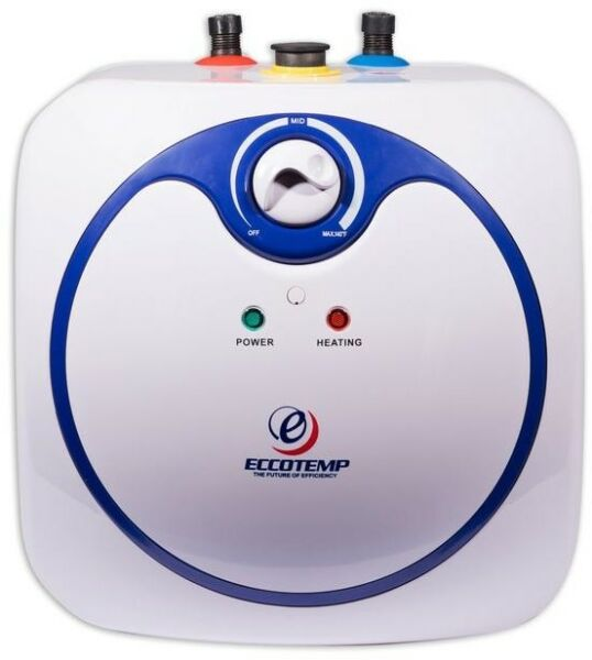 Mini Tank Electric Water Heater 2.5 gal. Point of Use Instant Hot Water Boat RV