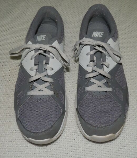 MEN#x27;S NIKE GREY RUNNING WORKOUT SNEAKERS 512019 003 SIZE 9 M EXCELLENT $21.49