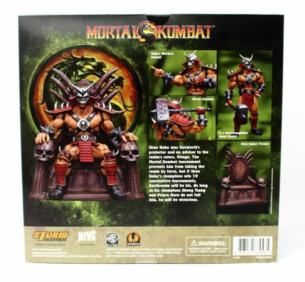 Storm Collectibles Mortal Kombat VS Series Shao Kahn 1/12 Scale Figure