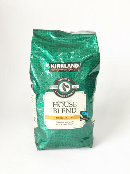 Kirkland Signature Starbucks Fairtrade House Blend Whole Bean Food Coffee 907g