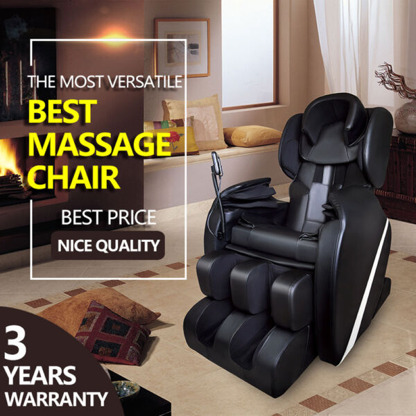 Full Body Zero Gravity Shiatsu Electric Massage Chair Recliner wHeat AIRBAG