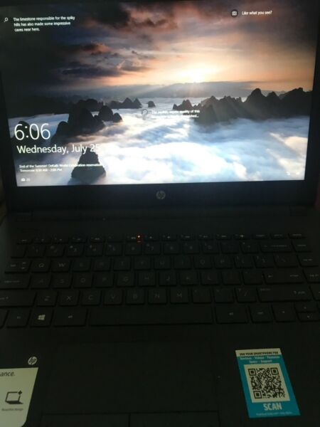 HP 14 inch BUNDLE DEAL! Comes with HP Envy Printer Notebook/Laptop -...