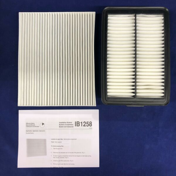New Engine & Cabin Air Filters For Hyundai Part #: 28113-F2000 97133-F2000