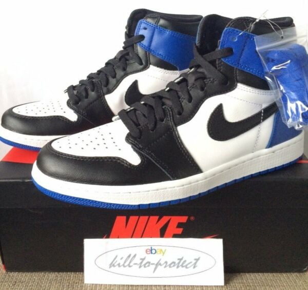 FRAGMENT x NIKE AIR JORDAN 1 Sz UK US 8 9 10 11 12 Bred 716371-040 Royal OG 2014
