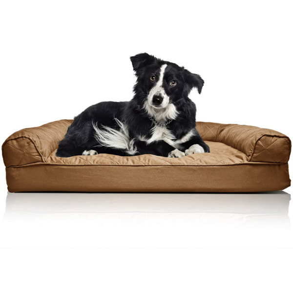 DELUXE Large Orthopedic Dog Couch Bed for Dogs Cats Pet Beds Bedding Sofa NEW $50.99