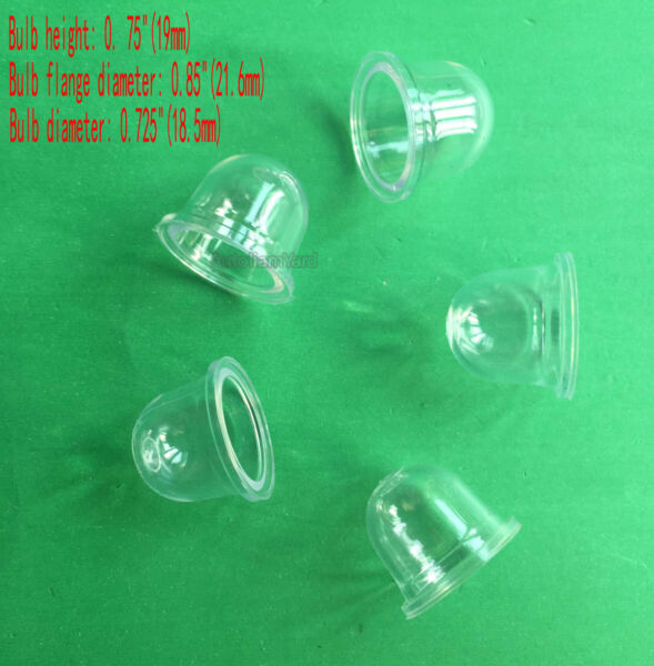 5 x Primer Bulb For ECHO SRM2400 SRM2100 SRM210  SRM260 GT200R  HC-1800 Trimmer