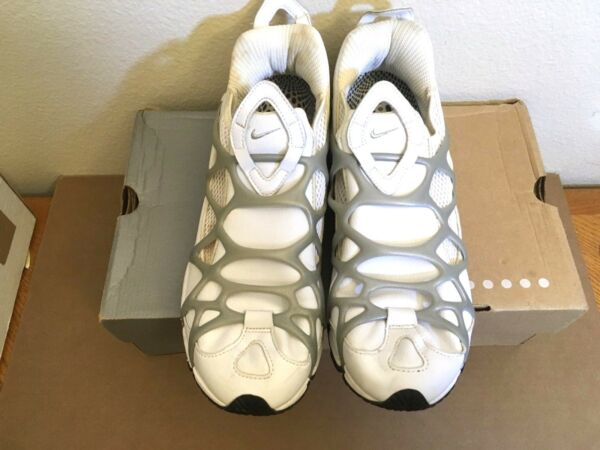 EXTREMELY RARE Nike Air Kukini WHITE LEATHER sneakers (2001) 12 Mens sneakers