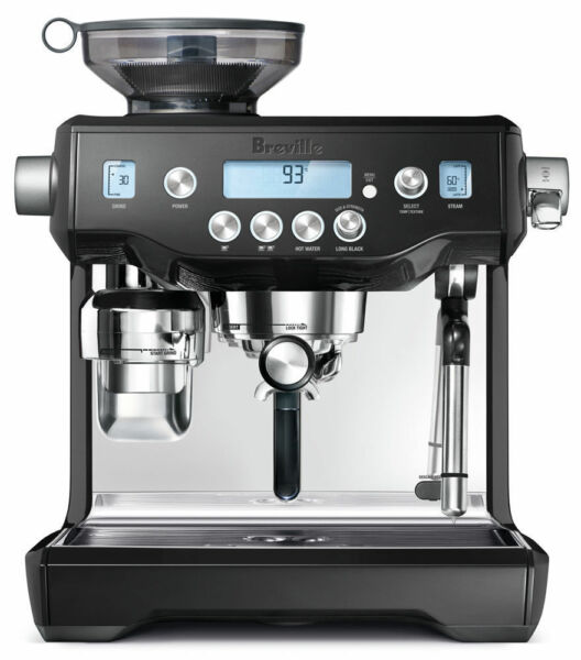 Breville BES980BKS Oracle Semi-auto Espresso Coffee Machine - Black - RRP $2599