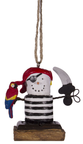 S'more's Pirate Christmas Everyday Ornament