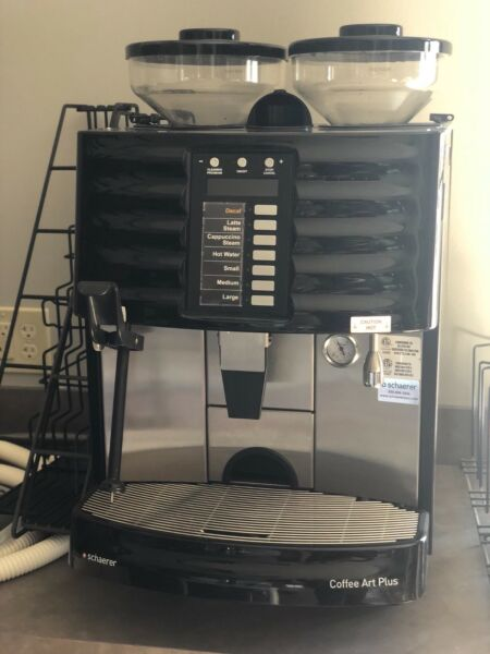 SCHAERER COFFEE ART PLUS AUTOMATIC COFFEE ESPRESSO MACHINE -Black