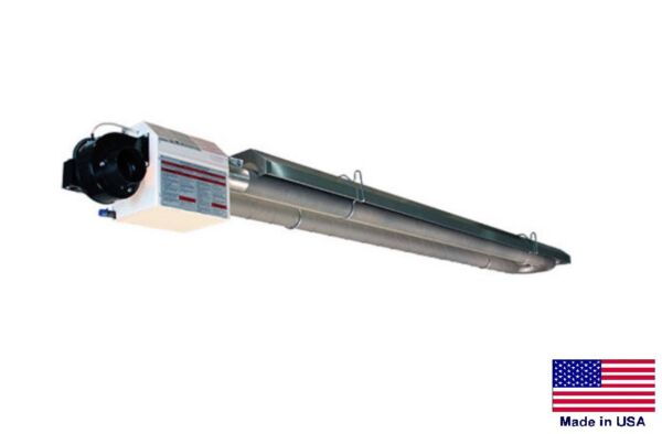 U TUBE HEATER Commercial - Infrared - Natural Gas - 50 Ft - 175000 BTU
