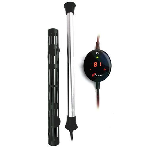 Finnex HMX 100W Titanium Heater with Touch Digital Controller $42.99