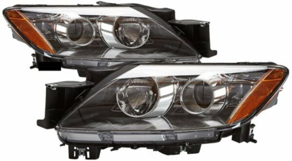 Headlight Pair Halogen Right Passenger Left Driver Fits 2007-2008 Mazda CX-7