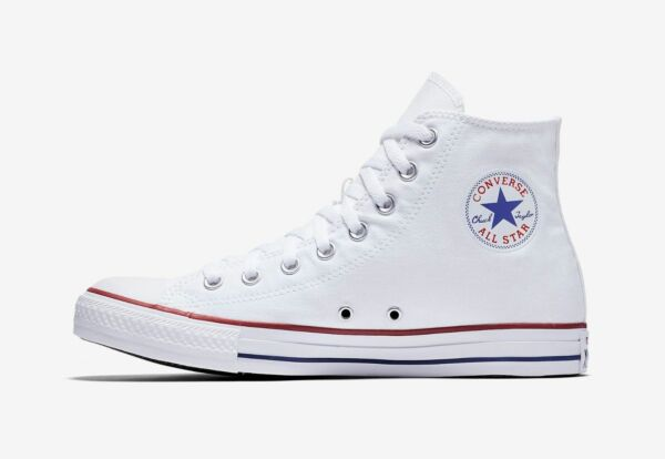 Converse Chuck Taylor All Star Optical White High Top Sneakers M7650