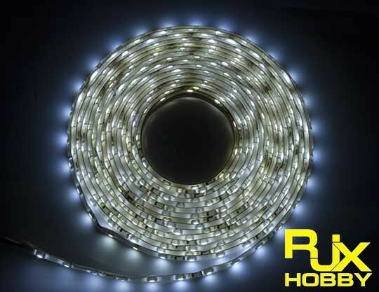 RJX Night Flight LED Wire 1M White for FPV For RC Airplane Helicopter Drones