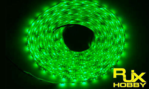 RJX Night Flight LED Wire 1M Green for FPV For RC Airplane Helicopter Drones