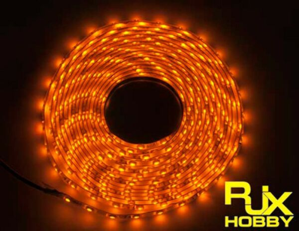 RJX Night Flight LED Wire 1M Yellow for FPV For RC Airplane Helicopter Drones