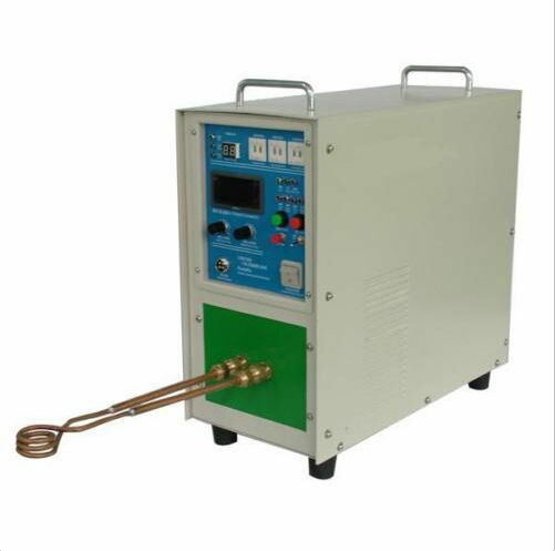 220V 15KW 30~80KHz High Frequency Induction Heater Furnace HOT