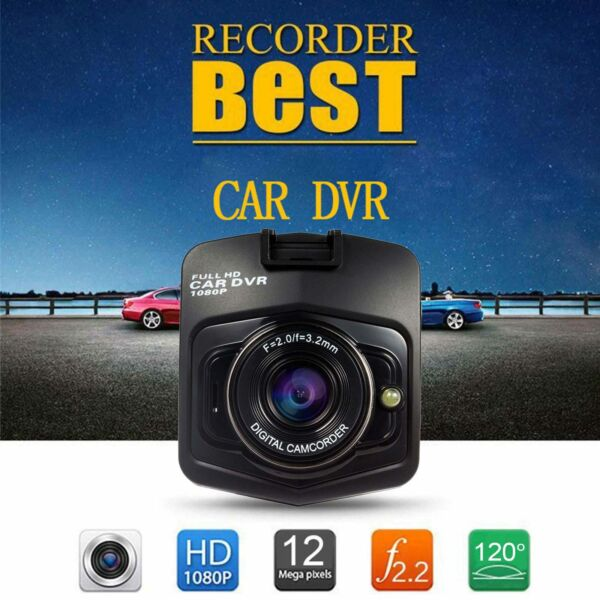 HD 1080P Car DVR Dash Camera Vehicle Video Recorder Dash Cam Night Vision