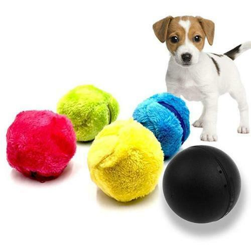 5PCSSET Magic Automatic Roller Ball Toy Roller Ball Magic Ball Dog Cat Pet Toy