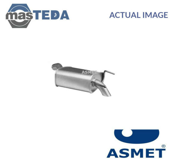 ASMET EXHAUST SYSTEM REAR SILENCER 05170 I NEW OE REPLACEMENT