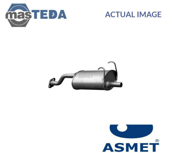 ASMET EXHAUST SYSTEM REAR SILENCER 13017 I NEW OE REPLACEMENT