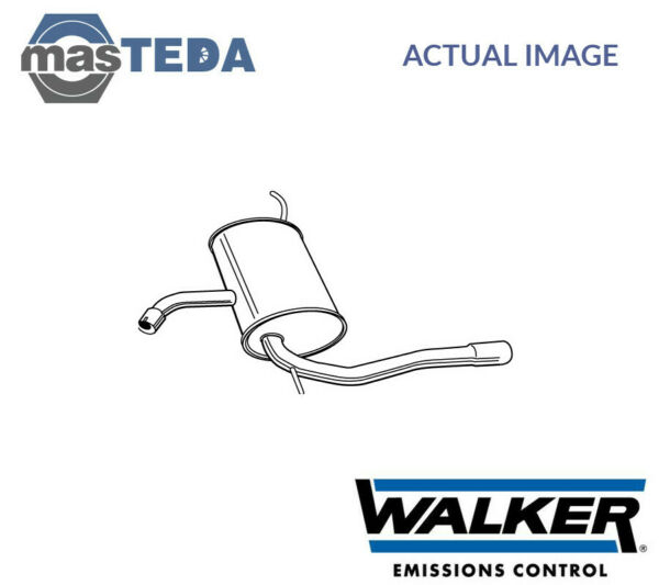 WALKER REAR EXHAUST SYSTEM REAR SILENCER 23261 I NEW OE REPLACEMENT
