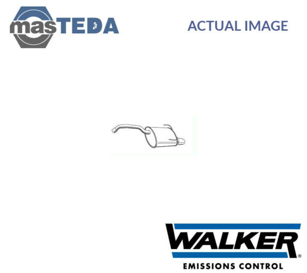 WALKER REAR EXHAUST SYSTEM REAR SILENCER 23332 I NEW OE REPLACEMENT