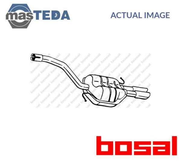 BOSAL REAR EXHAUST SYSTEM REAR SILENCER 233-165 I NEW OE REPLACEMENT
