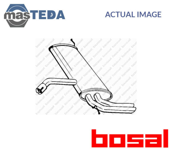 BOSAL REAR EXHAUST SYSTEM REAR SILENCER 227-049 I NEW OE REPLACEMENT