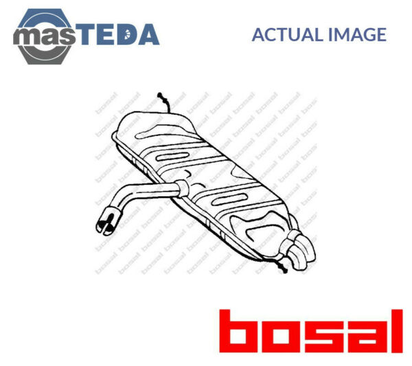BOSAL EXHAUST SYSTEM REAR SILENCER 233-179 I NEW OE REPLACEMENT