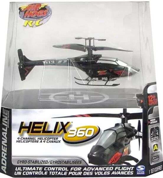 Air Hogs RC Helix 360 4 channel Helicopter New in box