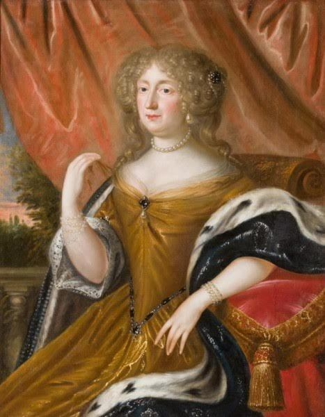 17th C Portrait Painting of Lady- Royal House of Hanover Collection